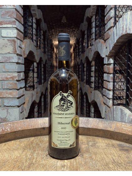 Hibernal, pozdní sběr, 2010, polosuché, vinařství Veverka