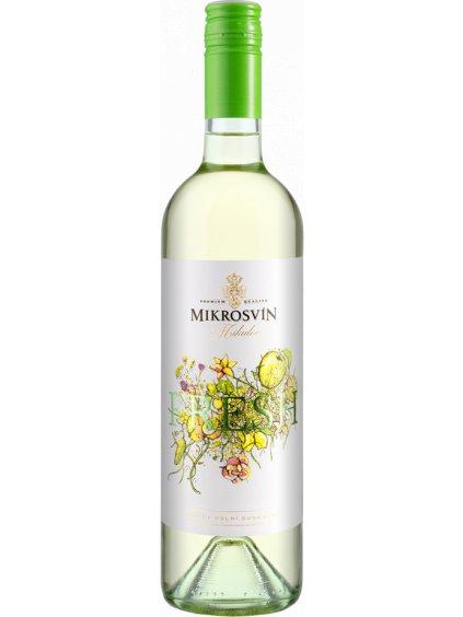 Fresh, moravské zemské víno, suché víno, 2020, vinařství Mikrosvín Mikulov