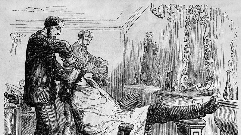 Historie holení
