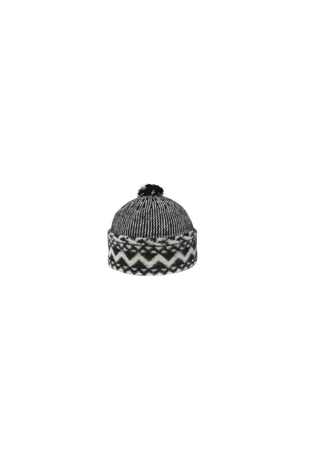 Triton 011 000014 cepice pletena vlnena zmijovka cerna (1)