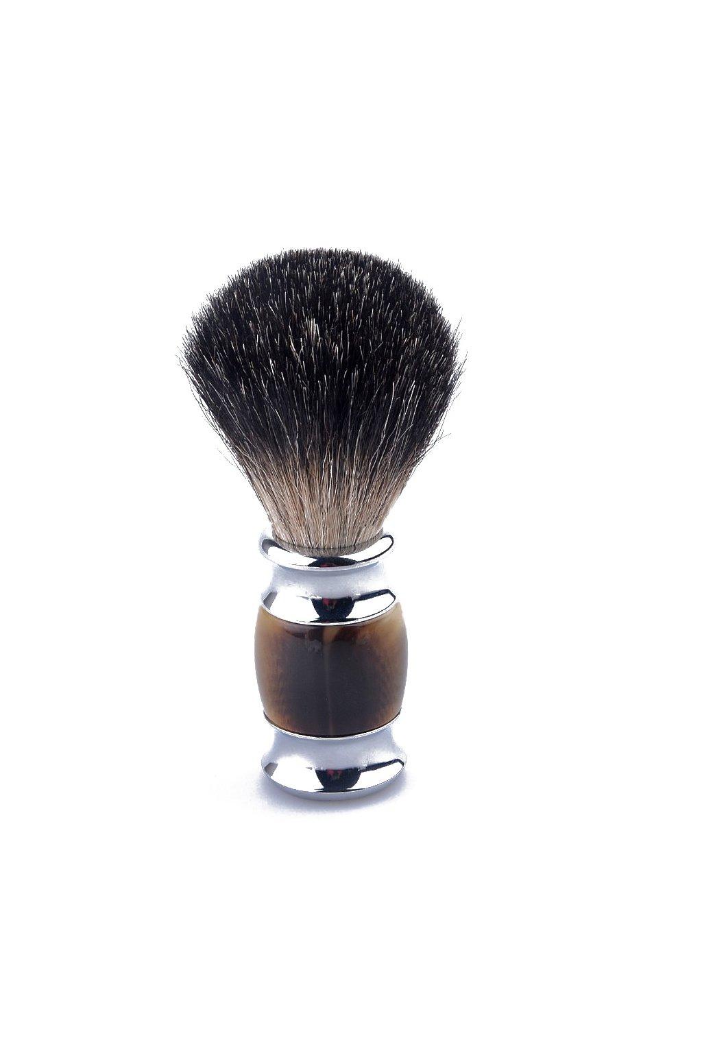 Holící štětka jezevčice - Black Pure Badger