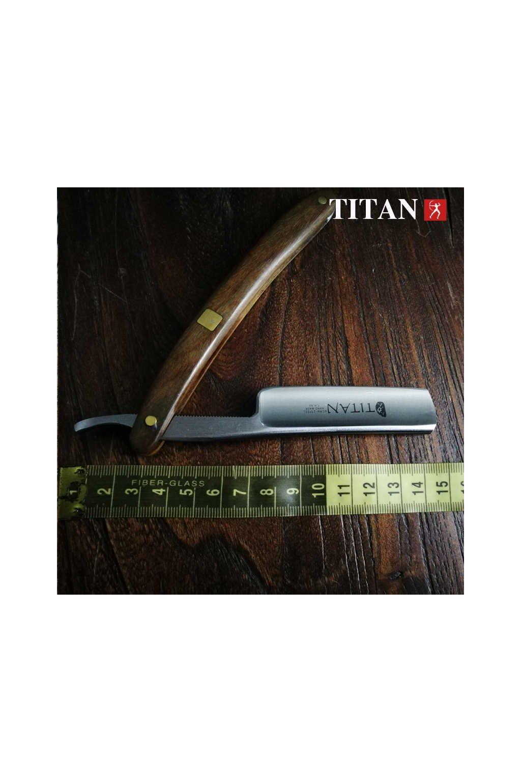 Břitva 13/16 Titan Navalha wood
