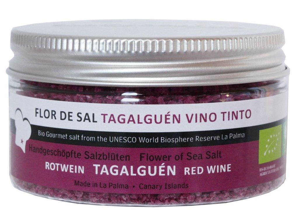 Flor de Sal Rotwein Salz BIO