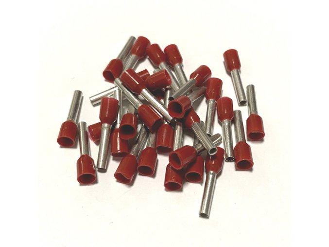 15351 dutinka izolovana prurez 1 5mm2 delka 8mm ruda