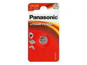 Baterie CR1220 PANASONIC lithiová 1BP