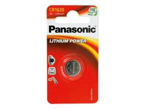 Baterie CR1620 PANASONIC lithiová 1BP
