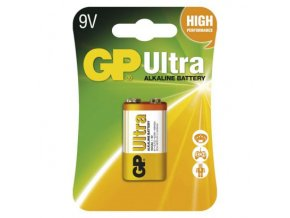 50565 baterie 6f22 9v alkalicka gp ultra alkaline 9v