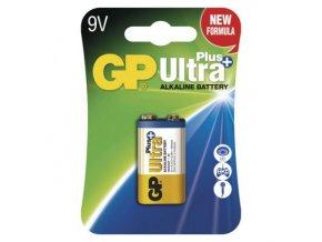 46305 baterie 6f22 9v alkalicka gp ultra plus alkaline 9v