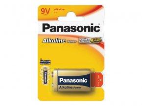 66732 baterie 6f22 9v alkalicka panasonic power alk 6lr61 1bp