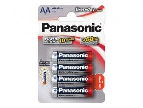 66306 baterie aa r6 alkalicka panasonic everyday power lr6 4bp