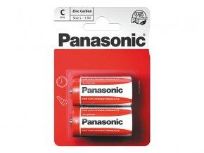 Baterie C (R14) Zn-Cl PANASONIC Red 2BP