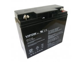 Baterie olověná 12V 17Ah VIPOW