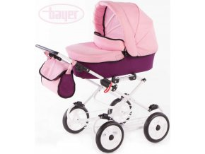 126477 bayer kocarek detsky hluboky viva pink pro panenku miminko