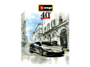 121422 bburago produktovy katalog 2015 ferrari 40th aniversary a4