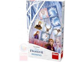 DINO Hra Domino Frozen II (Ledové Království) *SPOLEČENSKÉ HRY*