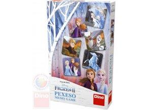 DINO Hra Pexeso Frozen II (Ledové Království) *SPOLEČENSKÉ HRY*