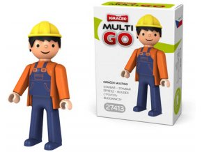 EFKO IGRÁČEK MultiGO Stavbař Figurka v krabičce