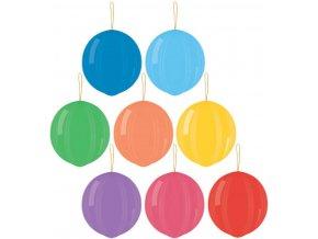 109263 gemar balonek nafukovaci punch ball pastelove s gumickou 45 141 8 barev gpb1