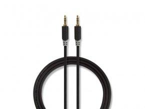 Kabel NEDIS JACK 3.5 konektor/JACK 3.5 konektor 1m