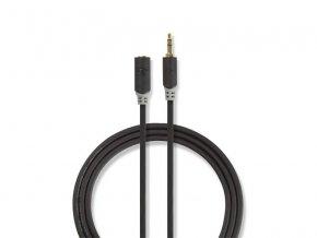 Kabel NEDIS JACK 3.5 konektor/JACK 3.5 zdířka 1m