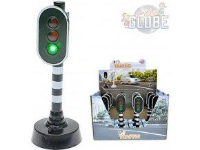 103215 kids globe semafor 12 5 cm se svetlem plast