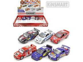 138257 kinsmart auto model 1 38 street fighter kov pb 13cm 6 druhu