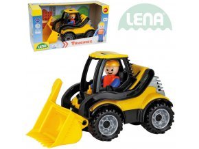 113130 lena truckies nakladac 20cm set baby auticko panacek 01622 plast