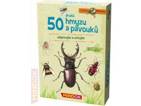101076 mindok hra kvizova expedice priroda 50 druhu hmyzu a pavouku naucna