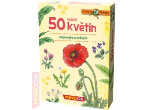 101082 mindok hra kvizova expedice priroda 50 nasich kvetin naucna