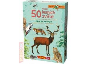 101085 mindok hra kvizova expedice priroda 50 nasich lesnich zvirat naucna