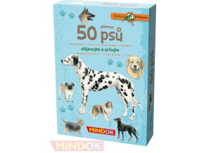 101100 mindok hra kvizova expedice priroda 50 plemen psu naucna