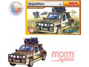 117948 monti system 14 auto renault 5 expedice stavebnice ms14 0105 14