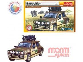 SEVA Monti System 14 Auto Renault 5 EXPEDICE stavebnice MS14 0105-14