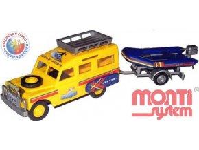 SEVA Monti System 63 Auto Land Rover ADRIATIC stavebnice MS63 0101-63