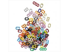 PROFIBABY Céčka různé barvy a tvary set 150ks v sáčku