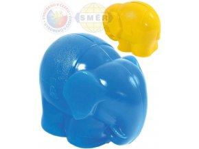 118194 smer pokladnicka kasicka slon plastova 2 barvy