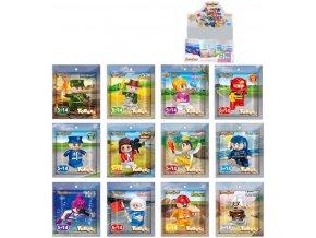 Stavebnice BanBao set figurka k sestavení ToBees Gift s doplňkem 12 druhů