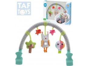 125916 taf toys baby hrazdicka hudebni sova svetlo zvuk pro miminko