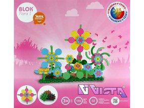 117705 vista blok flora 1 plastova stavebnice 126 dilku