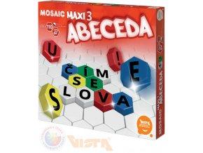 117675 vista mosaic maxi 3 abeceda stavebnice mozaikova 110 dilku v krabici plast