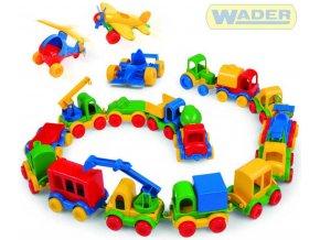 116550 wader kid car vozitka 18 druhu 60000