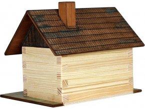 WALACHIA Chaloupka 33W1 dřevěná stavebnice