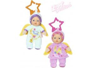 ZAPF BABY BORN Panenka andílek 18cm různé druhy s chrastítkem pro miminko