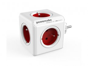 58251 zasuvka powercube original red