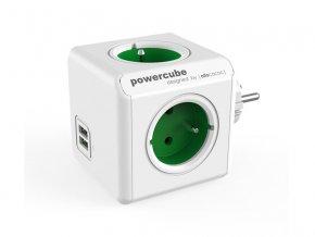 92016 zasuvka powercube original usb green