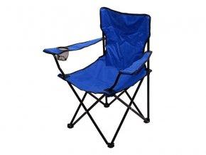 Židle kempingová CATTARA 13448 BARI modrá