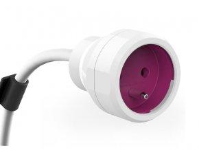 58785 kabel prodluzovaci powerextension 5m purple