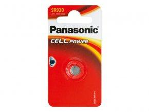 Baterie 370 PANASONIC do hodinek 1BP