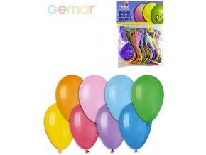 GEMAR Balónky nafukovací 19cm Pastelové barevné set 20ks v sáčku