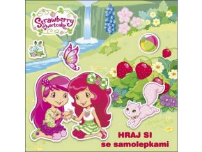 AKIM Hraj si se samolepkami Jahůdka Strawberry Shortcake samolepková knížka